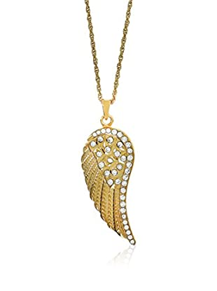 Art de France Collar Angel metal bañado en oro 24 ct