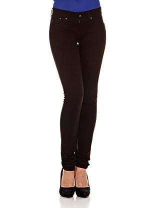 Pepe Jeans London Pantalón New Pixie (Marrón Oscuro)