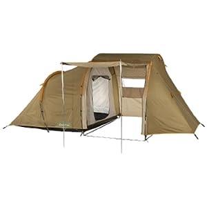 Quechua T41 B 4 Person Tent-Brown