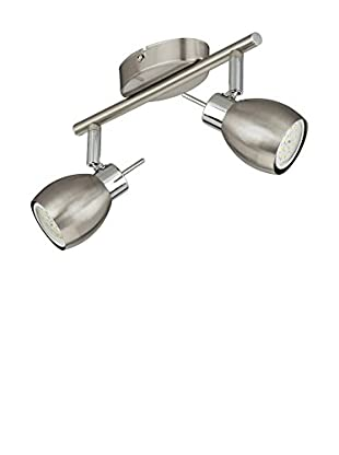 Briloner Leuchten Lámpara De Techo Níquel