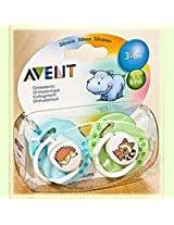 Philips Avent Fashion Orthodontic Soother 3-6m