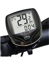 Waterproof Wireless Bike Bicycle Computer LED Odometer Speedometer