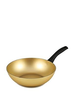 Stonegold Wok gold/schwarz