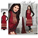 00% COTTON SUMMER COOL EMBROIDERIED SALWAR SUIT DRESS MATERIAL