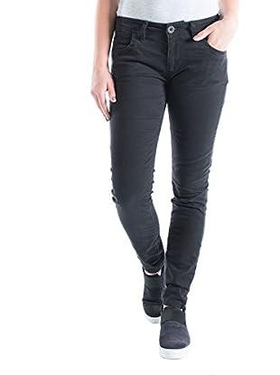 Timezone Aureliatz 5-Pocket Pants, Pantalones para Mujer, Negro (Caviar Black 9151), W26