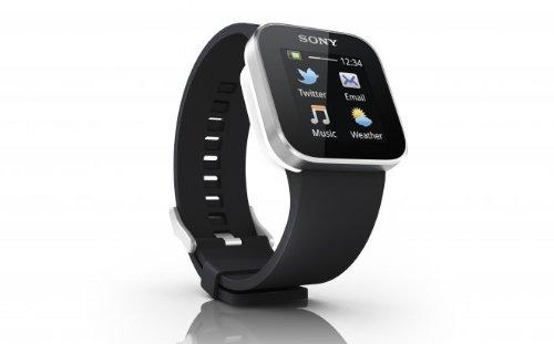 Sony SmartWatch スマートウォッチ Android ウォッチ (Twitterなどができて Xperia と連携できるタッチディスプレイ腕時計) 輸入品