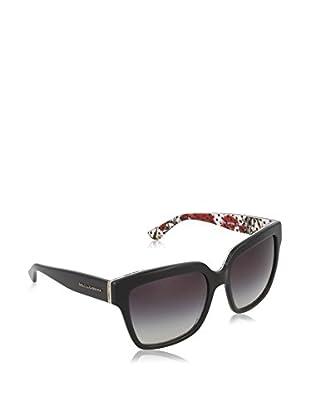 Dolce & Gabbana Gafas de Sol 4234 29768G (57 mm) Negro / Blanco