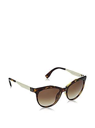 Fendi Sonnenbrille Ff 0049/S Pgm/Cc (54 mm) havanna