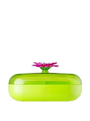 VIGAR Caja de Té Flower Power Verde