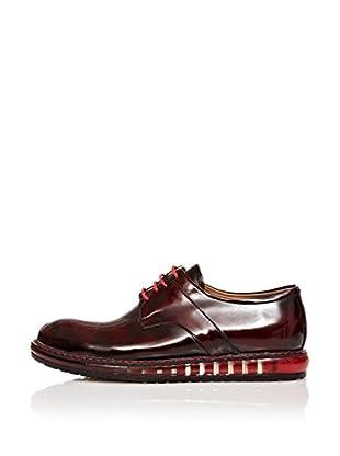 Paolo Massi Zapatos Derby Cordones (Burdeos)