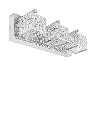 De-sign Lights Wandleuchte Magna metallic/kristall