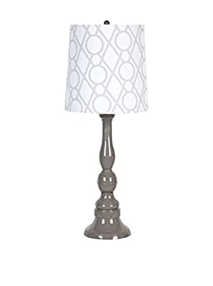 Applied Art Concepts Rothesay Table Lamp, Grey