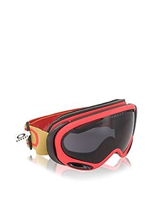 Oakley Máscara de Esquí A-Frame 2.0 Mod. 7044 Clip Copper Rojo