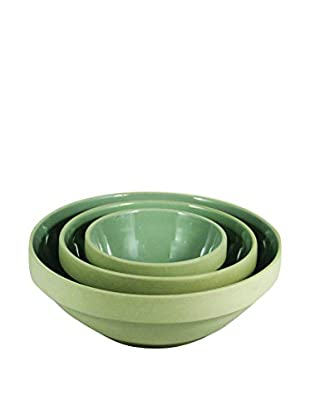 Canvas Home Set of 3 Helsinki Nesting Bowls, Grey