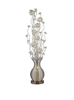 Artistic Lighting Floor Lamp, Silver