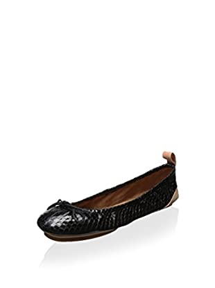 See By Chloe Women's Ballet Flat with Pouch (Nero)
