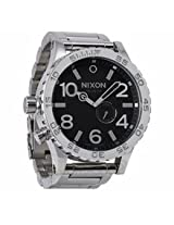 Nixon 51-30 High Polish / Black Mens Watch A057487