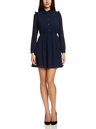 Sugarhill Boutique Vestido Adeline (Azul Marino)