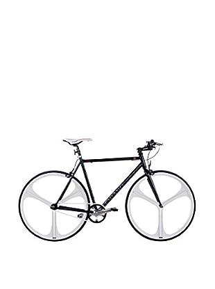 Schiano Fahrrad 28 Fixed Fly 52 Telaio Nero Ruote Bianche schwarz/weiß