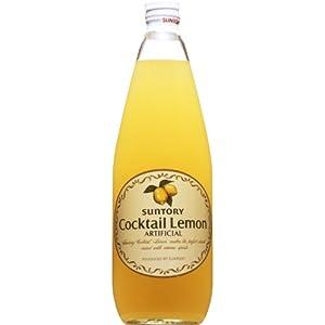 【クリックで詳細表示】サントリー カクテルレモン 780ml: 食品・飲料・お酒 通販