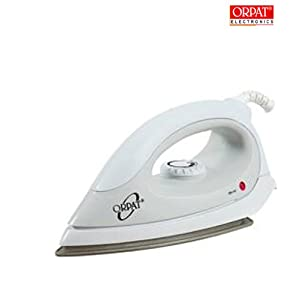 Orpat OEI-157 1000-Watt Cordless Iron (White) [Kitchen & Home]