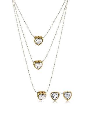 Pilgrim Jewelry Conjunto de collar y pendientes