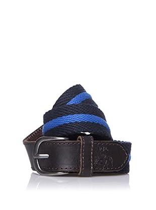 Pepe Jeans London Cinturón Simon Belt (Azul Oscuro)