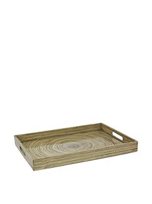 Three Hands Bamboo Tray