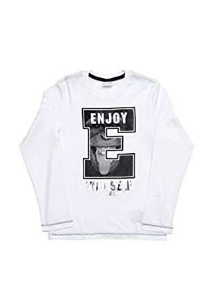 Diesel T-Shirt Tibizy Slim  Ml (Blanco)