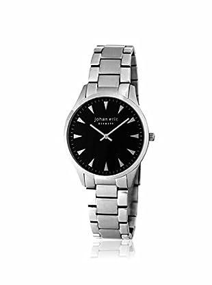 Johan Eric Men's JE9000-04-007B Helsingor Silver/Black Stainless Steel Watch