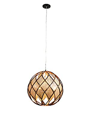 Varaluz Argyle 5-Light Pendant, New Bronze/Desert Pearl