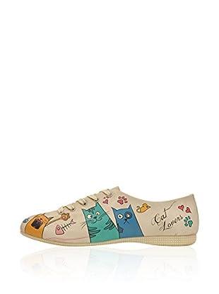DOGO Zapatos de cordones Cat Lovers