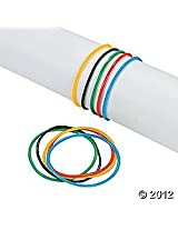 Vinyl Olympic Games Olympian Colors Jelly Bracelets - 144 pcs