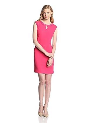 Sandra Darren Women's Texture Knit Sheath Dress