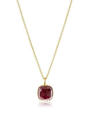 Kevia Rococo Ruby Necklace