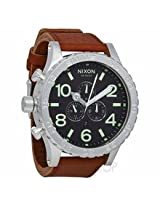 Nixon 51-30 Chronograph Brown Leather Mens Watch A1241037