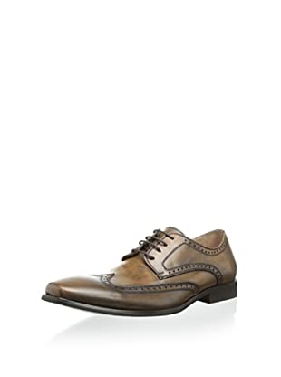 Robert Wayne Men's Brumel Oxford (Tobacco)