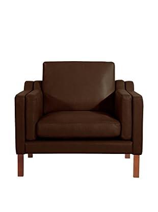 Kardiel Monroe Mid-Century Modern Armchair, Cocoa