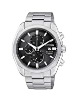 Citizen Eco Drive Silver Titanium Analog Men Watch P14042