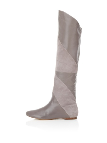 Belle by Sigerson Morrison Women's 6670 Knee-High Boot (Taupe Leather)