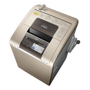 日立 9.0kg 洗濯乾燥機 シャンパンHITACHI ビートウォッシュ BW-D9PV-N
