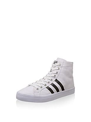 adidas Zapatillas abotinadas Courtvantage Mid Ftwwht/Cblack/Metsil