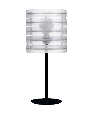 Caimi Tischlampe Ring transparent/schwarz