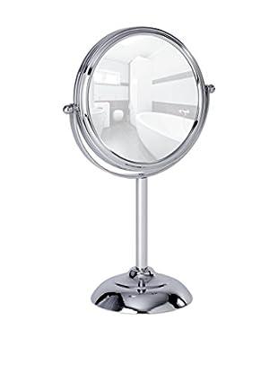 Wenko Set Espejo de Baño 2 Uds. 10 x Plateado