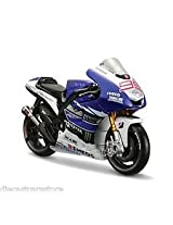 MAISTO 1:18 YAMAHA FACTORY RACING Diecast Motorcycle-BLUE