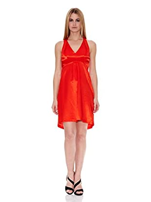 Naf Naf Vestido Cassandra (Rojo Lipstick)