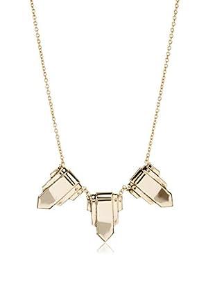 Yochi Trio Shield Necklace