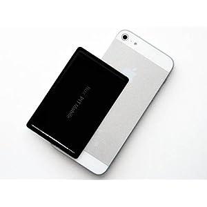 Amazon.co.jp: iPhone 5 対応 干渉エラー防止シール 「フラックス・ピットモバイル for 5 /ブラック」 ICカード収納型 iPhoneケース用: 家電・カメラ