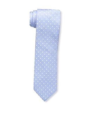 Bruno Piattelli Men's Slim Dotted Tie, Blue