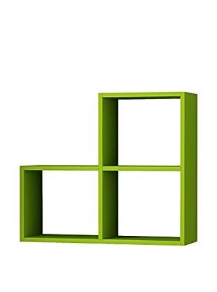 Matte Maison  Regalbrett 3Cubes grün